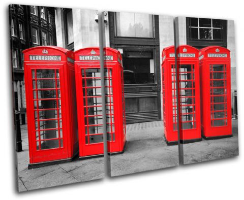 London Telephone Box Landmarks - 13-1706(00B)-TR32-LO